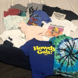 12 T Shirt Bundle